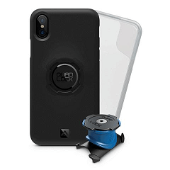 Support vélo iPhone X/Xs Quad Lock