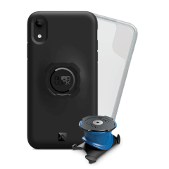 Support vélo iPhone Xr Quad Lock