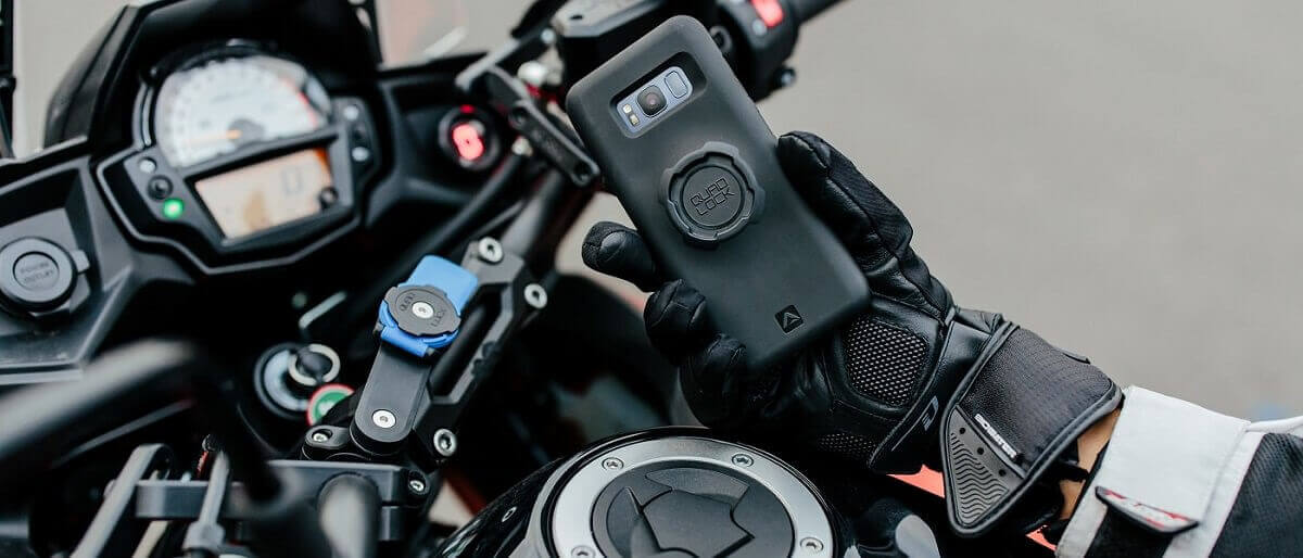 Support Moto Quad Lock